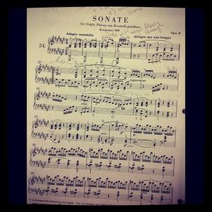 Beethoven Opus 78